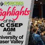 Highlights of the BC CSEP AGM at UFV