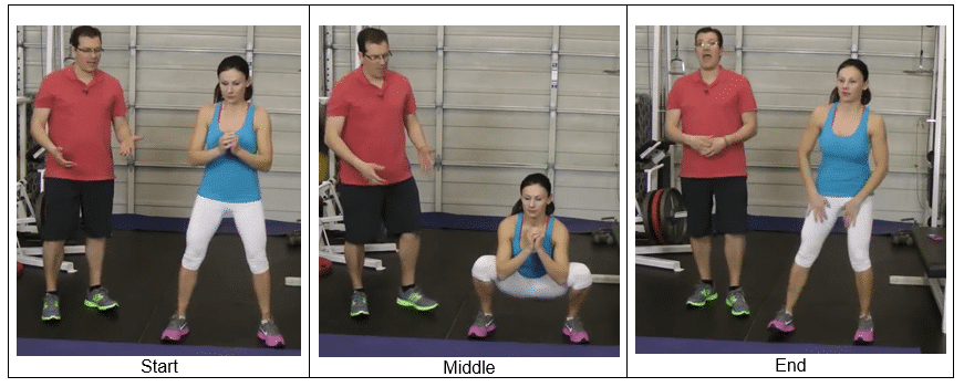 Deep Squat Stretch