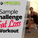 Sample Challenge Fat Loss Workout