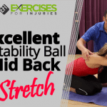 Excellent Stability Ball Mid Back Stretch
