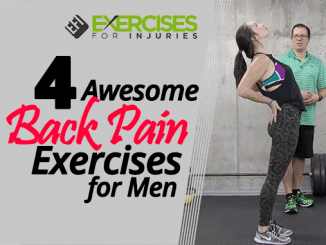 4 Awesome Back Pain Exercises for Men