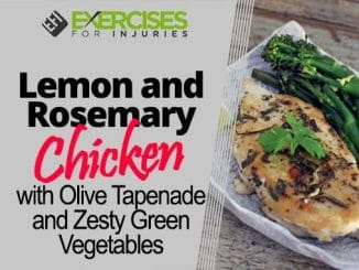 Lemon-and-Rosemary-Chicken-with-Olive-Tapenade-and-Zesty-Green Vegetables