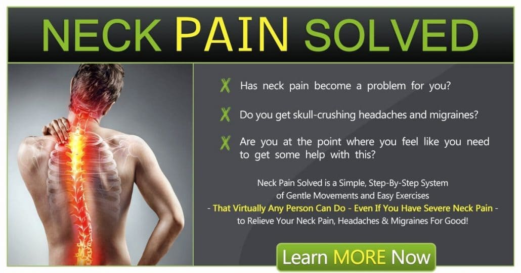 Promotional Blog Graphic for Neck Pain Solved