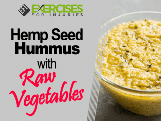 Hemp Seed Hummus with Raw Vegetables
