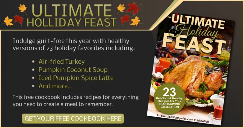 Promotional Blog Graphic for Thanksgiving Cookbook