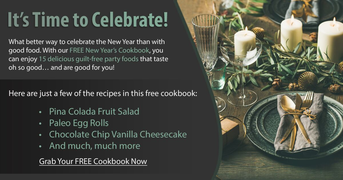 Promotional Blog Graphic for New Year's Cookbook
