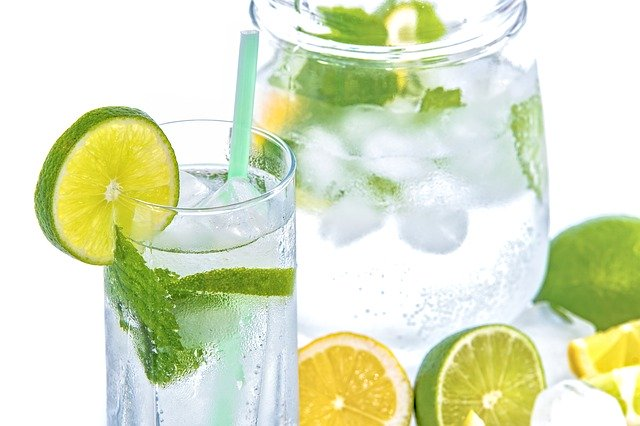 drink sparkling water for heart health