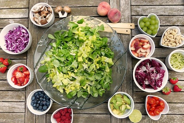 eat fruits and vegetables to get healthy