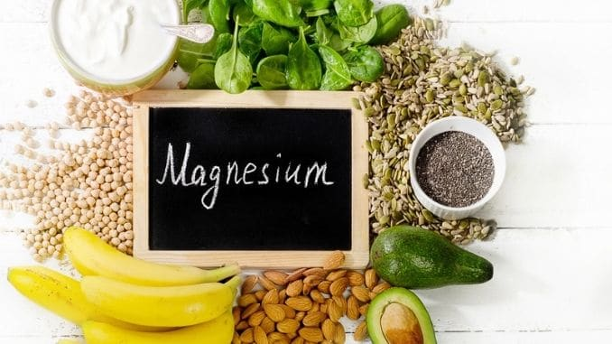 Products rich in magnesium