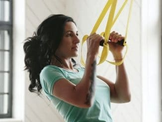 TRX for a Strong Back