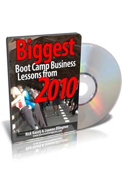 Biggest Boot Camp Business Lessons from 2010 - Rick Kaselj & Leanne Ellington