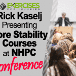 Rick Kaselj Presenting Core Stability Courses at NHPC Conference