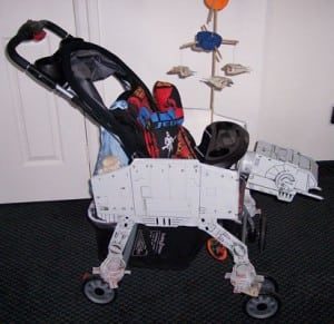 May the force be with you when you run! (Star Wars Stroller)