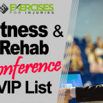 Fitness & Rehab Conference VIP List