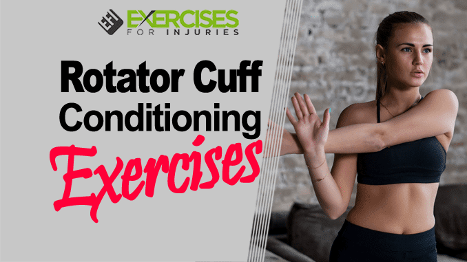 Rotator Cuff Conditioning Exercises (Webinar) - Exercises For Injuries