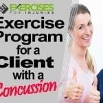 Exercise Program for a Client with a Concussion