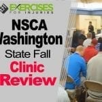 NSCA Washington State Fall Clinic Review