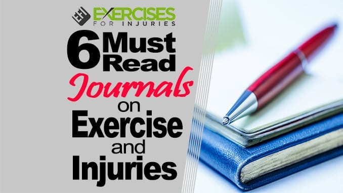 6 Must Read Journals on Exercise and Injuries