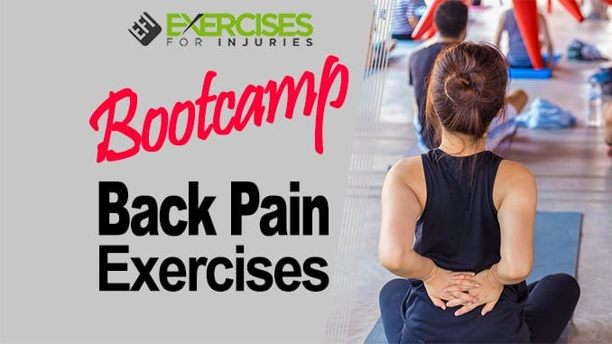 Bootcamp Back Pain Exercises