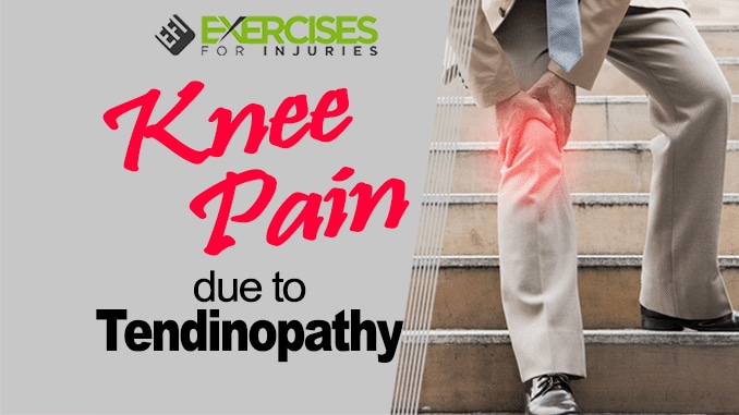 Knee Pain Due to Tendinopathy copy 2