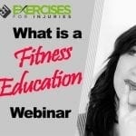 What is a Fitness Education Webinar?