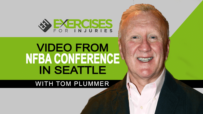 Video from NFBA Conference in Seattle with Tom Plummer