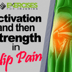 Activation and then Strength in Hip Pain
