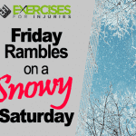 Friday Rambles on a Snowy Saturday