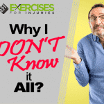 Why I DON'T Know it All