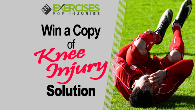 Win a Copy of Knee Injury Solution copy