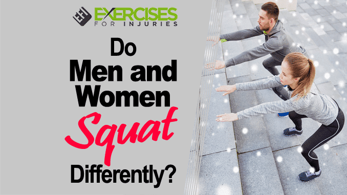 Do Men and Women Squat Differently