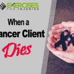 When a Cancer Client Dies