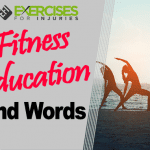 Fitness Education Kind Words