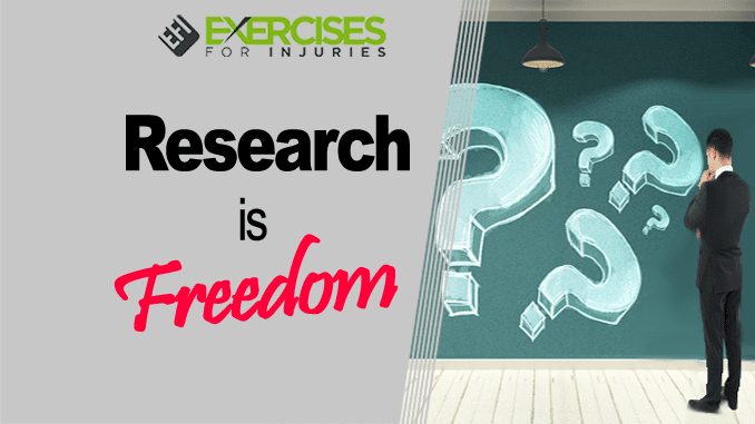 Research is Freedom