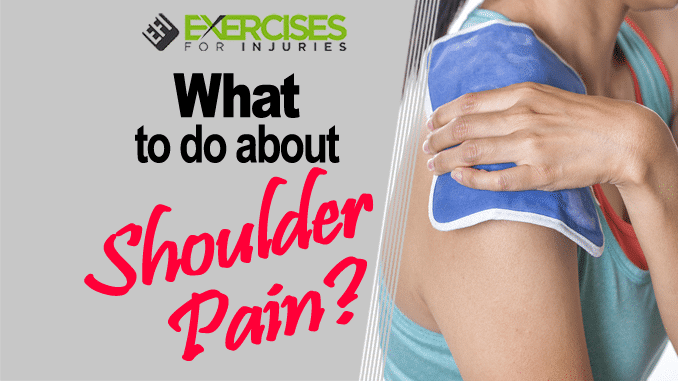 What to do about Shoulder Pain
