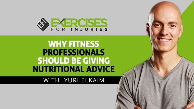 Why Fitness Professionals Should Be Giving Nutritional Advice