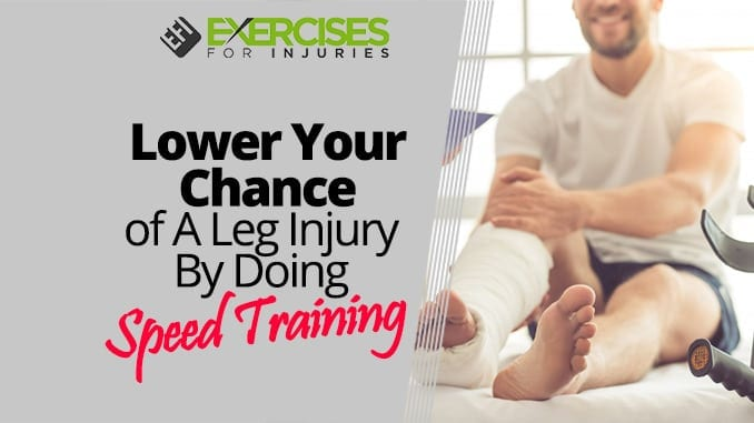 Lower Your Chance of A Leg Injury By Doing Speed Training
