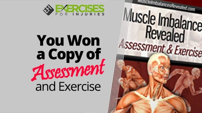 You Won a Copy of Assessment and Exercise