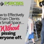 How to Effectively Train Clients in a Small Space… Without pissing everyone off.