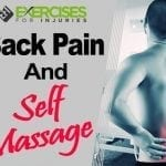 Back Pain and Self Massage
