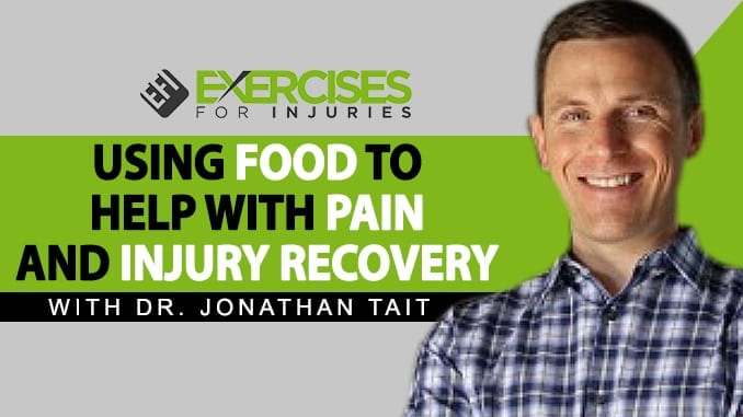 Using Food to help with pain and injury recovery
