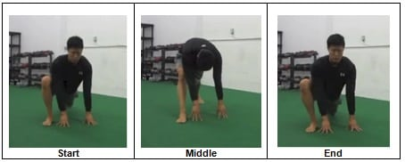 4 Lunge and a Push Back