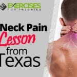 A Neck Pain Lesson from Texas