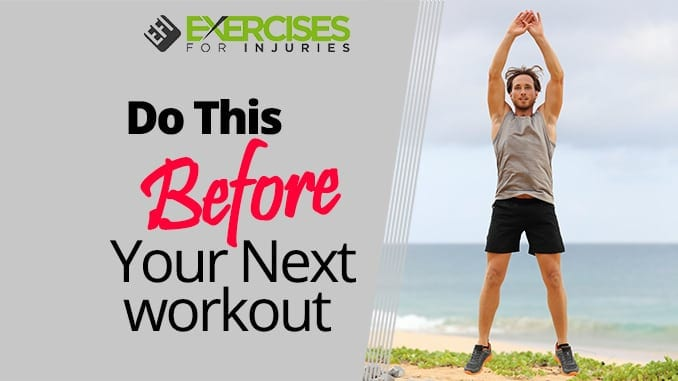 Do This Before Your Next Workout