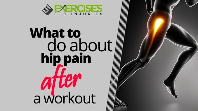 What to do about hip pain after a workout (2)