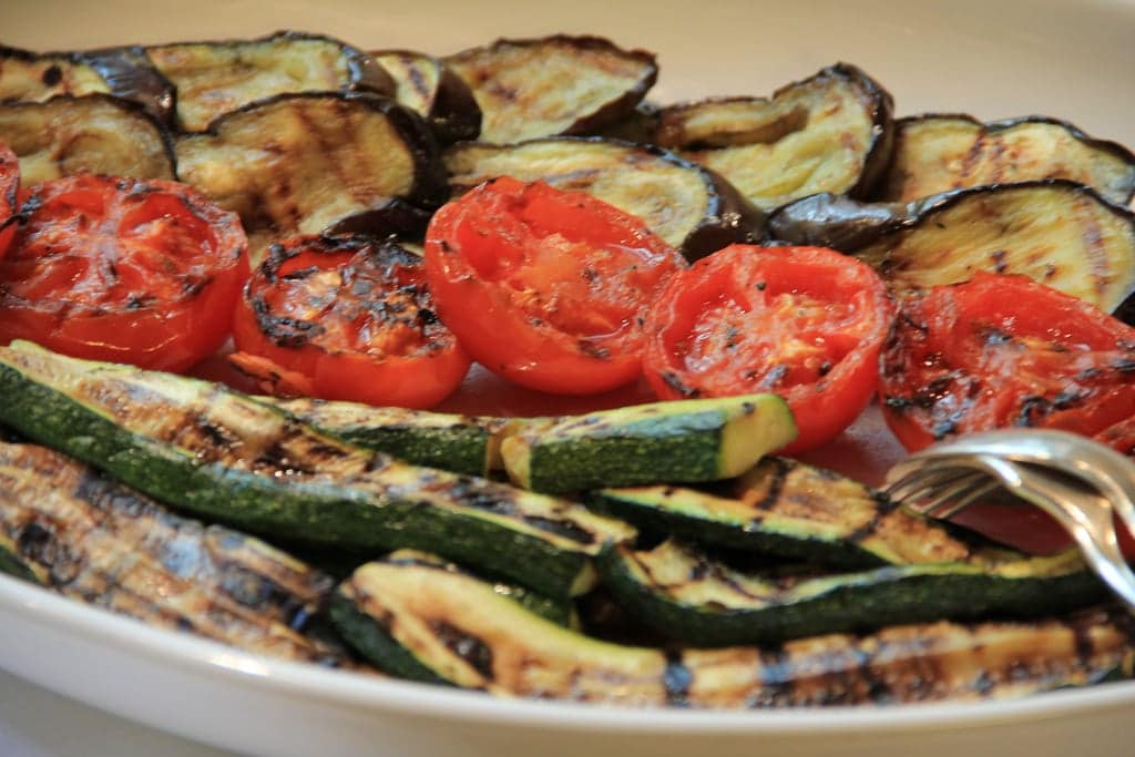 Grilled Vegetables For Fat Loss