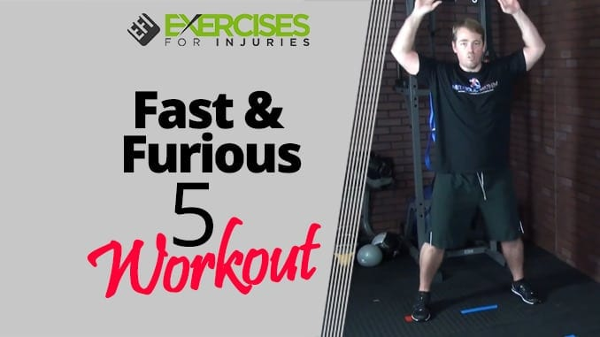 Fast & Furious 5 Workout