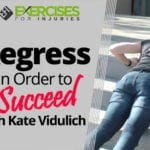 Regress In Order to Succeed