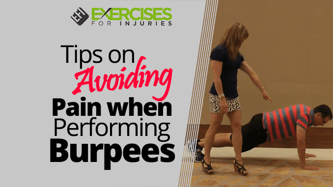 Tips on Avoiding Pain when Performing Burpees