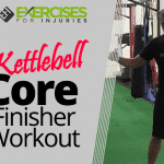 Kettlebell Core Finisher Workout